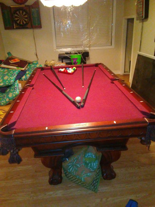 American Heritage Pool Table With Extras For Sale In Philadelphia - Pool table philadelphia