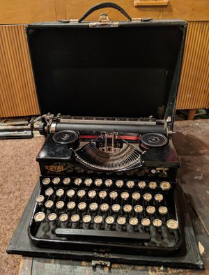 1930's Royal Portable Typewriter Vintage for Sale in Seattle, WA