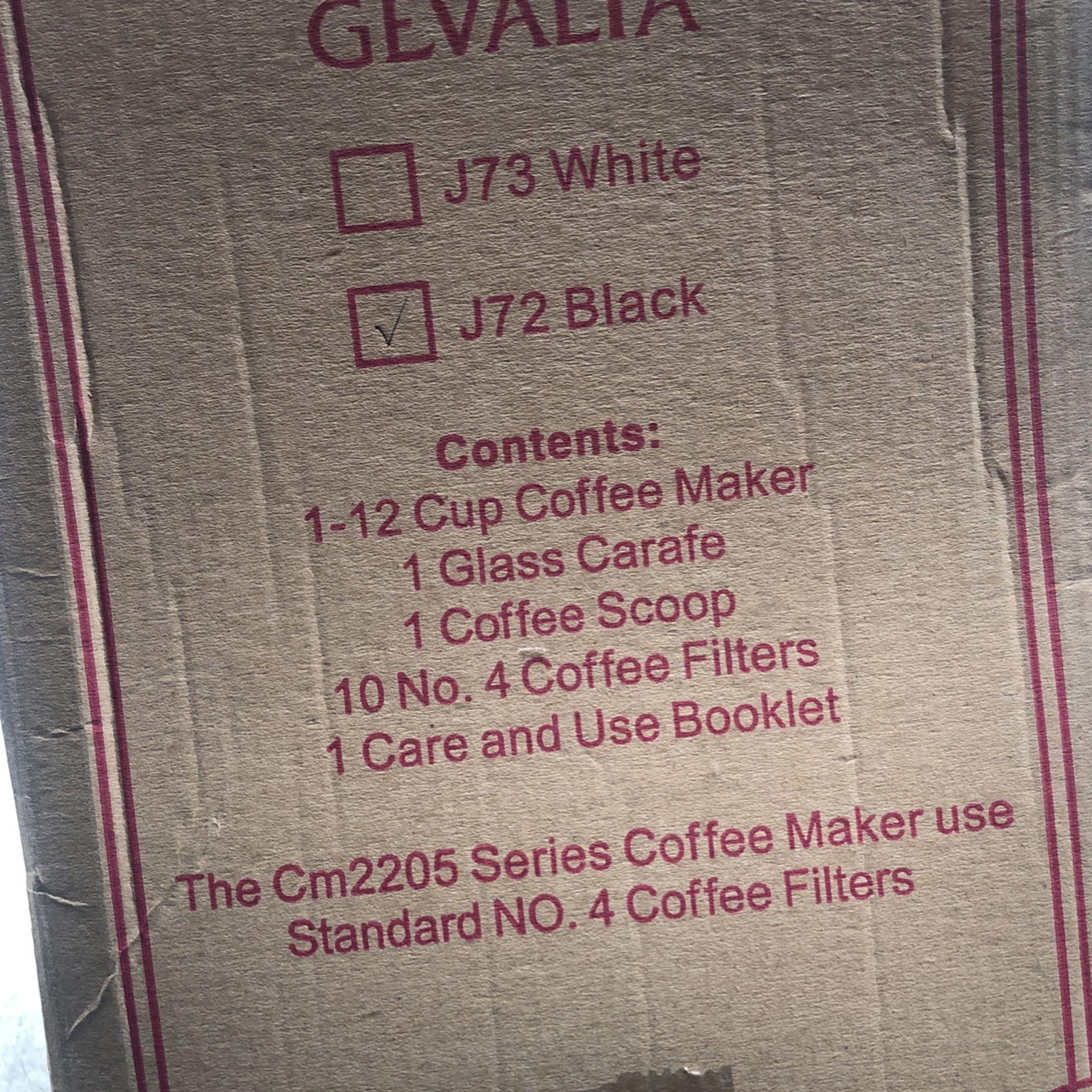Brand new coffee maker Black