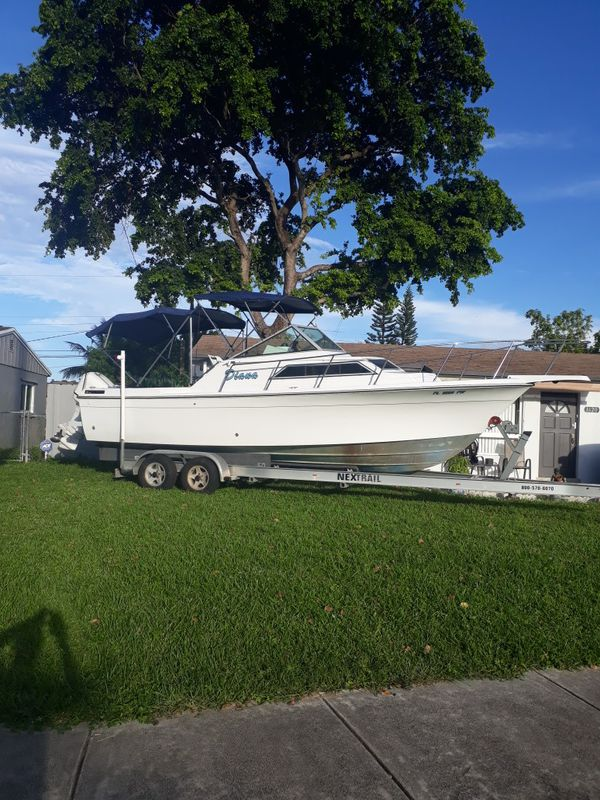 1988 well Crasft Fisherman 25 Ft With 2000 Evinrude 225 Hp ...