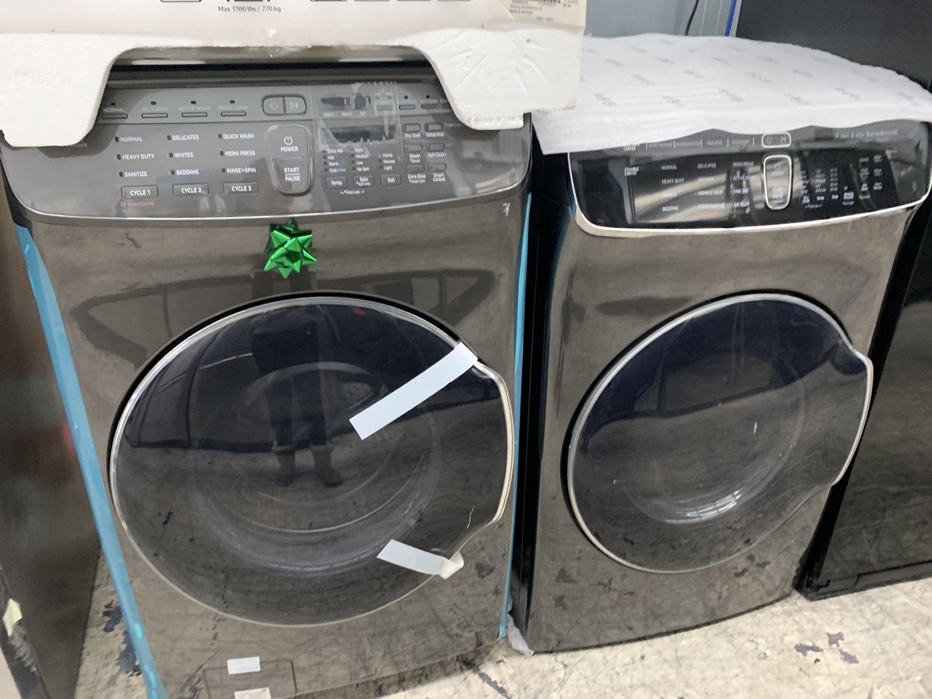 Samsung flex washer & dryer set