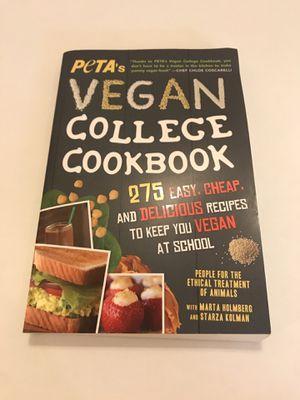 Vegan cookbook for Sale in St. Louis, MO