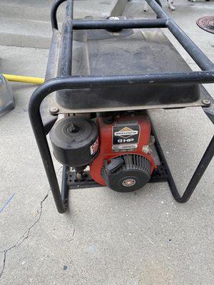 Photo Homelite generator it turns