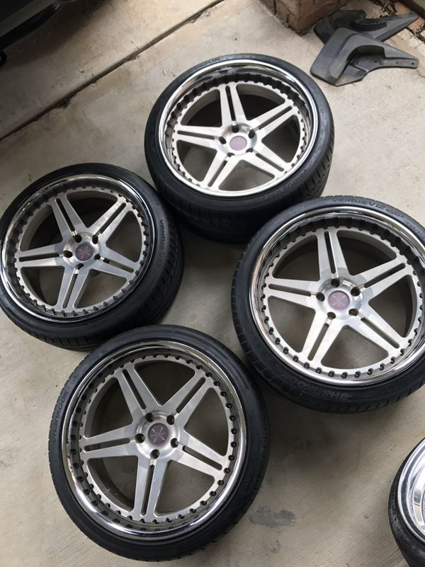 20 inch Venaci wheels with tires for Sale in Spring, TX - OfferUp