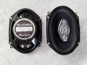 Photo Pioneer car speakers 6×8
