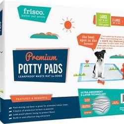 Frisco dog Training And Potty pad 22x23  150 Sheets Thumbnail