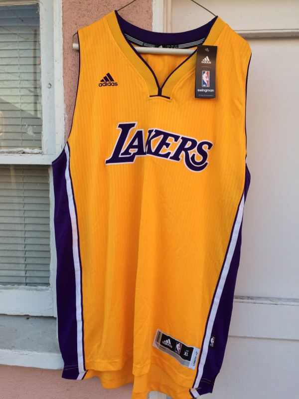 2a4d15d8 New and Used Lakers jersey for Sale in Fountain Valley, CA - OfferUp
