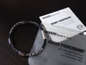 Nikken magnetic PowerBand sports bracelet for Sale in San Francisco, CA