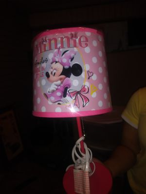 New and used lamp shades for sale in jonesboro ar offerup minnie mouse lamp for sale in horn lake ms aloadofball Image collections