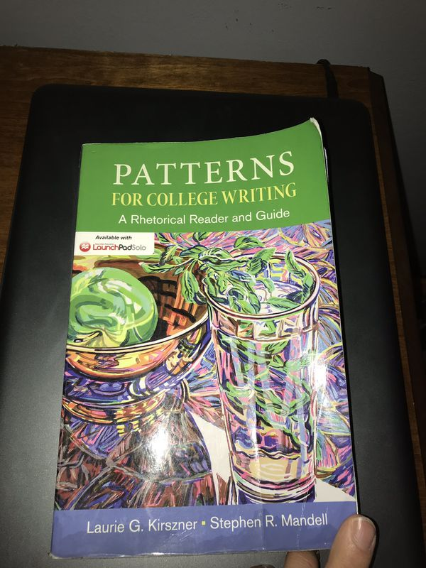 Patterns For College Writing 40th Edition For Sale In Nashville TN Beauteous Patterns For College Writing 13th Edition