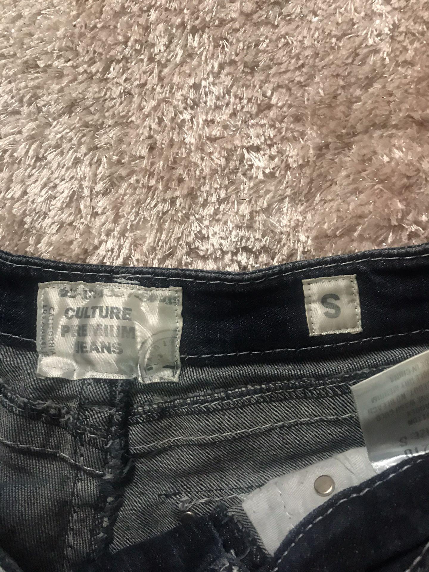 Premium Culture jean shorts