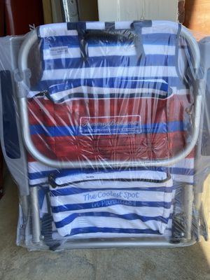 Photo **BRAND NEW** Tommy Bahama Backpack Chair $45