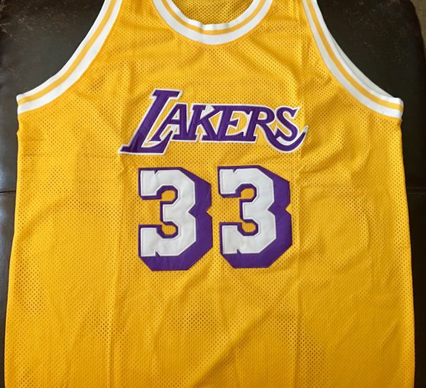 new arrival 297b5 c0d5a Kareem Abdul Jabbar #lakers #vintage #jersey for Sale in Los Angeles, CA -  OfferUp
