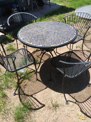 2 Patio Tables With 4 Chairs Each For In Chandler Az
