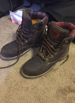 CAT steel toe boots (6) for Sale in Salt Lake City, UT