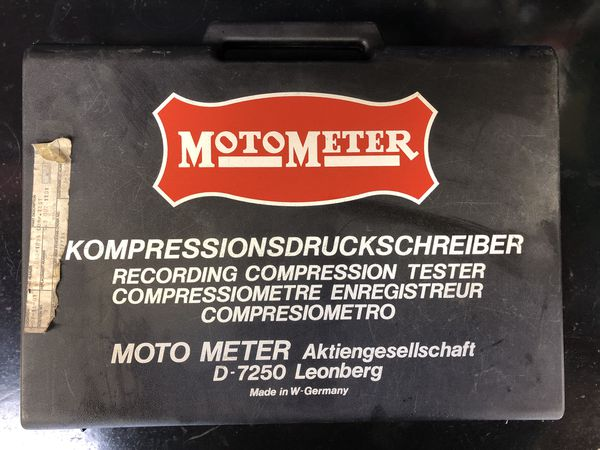 MotoMeter Compression Tester for Diesel and Gas engine  Made in Germany for  Sale in Encinitas, CA - OfferUp