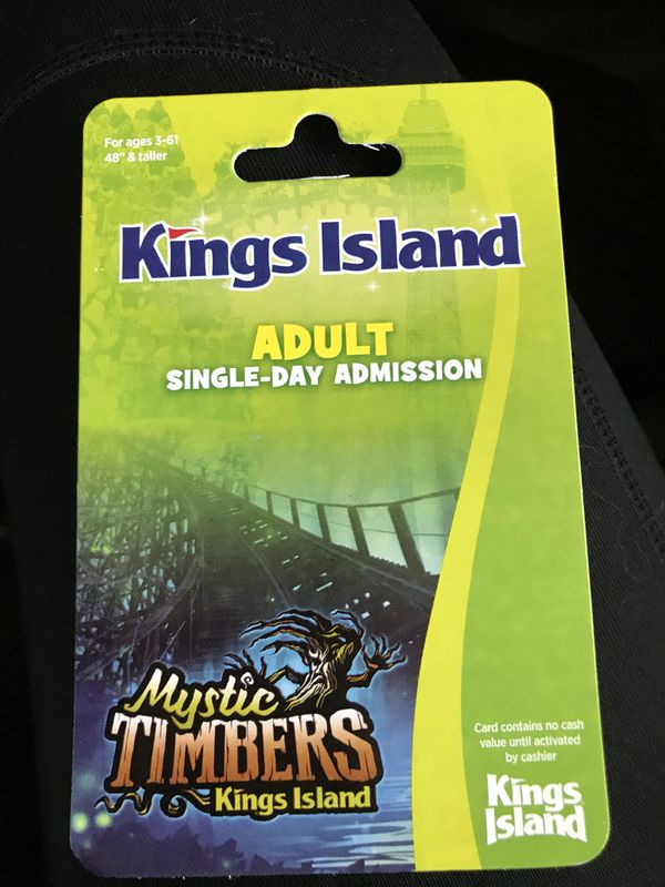 discount tickets to kings island krogers