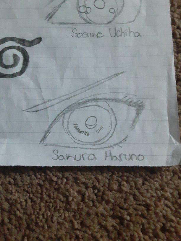 Naruto Eye Drawings