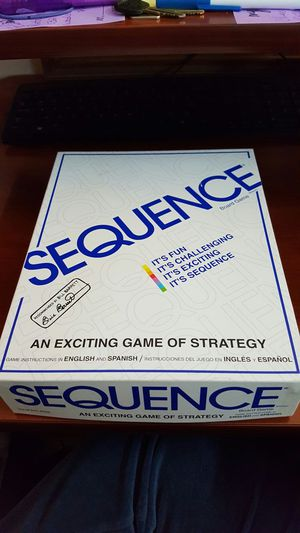 Sequence board game. for Sale in Ashburn, VA