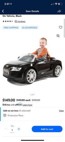 Ride On Audi Thumbnail
