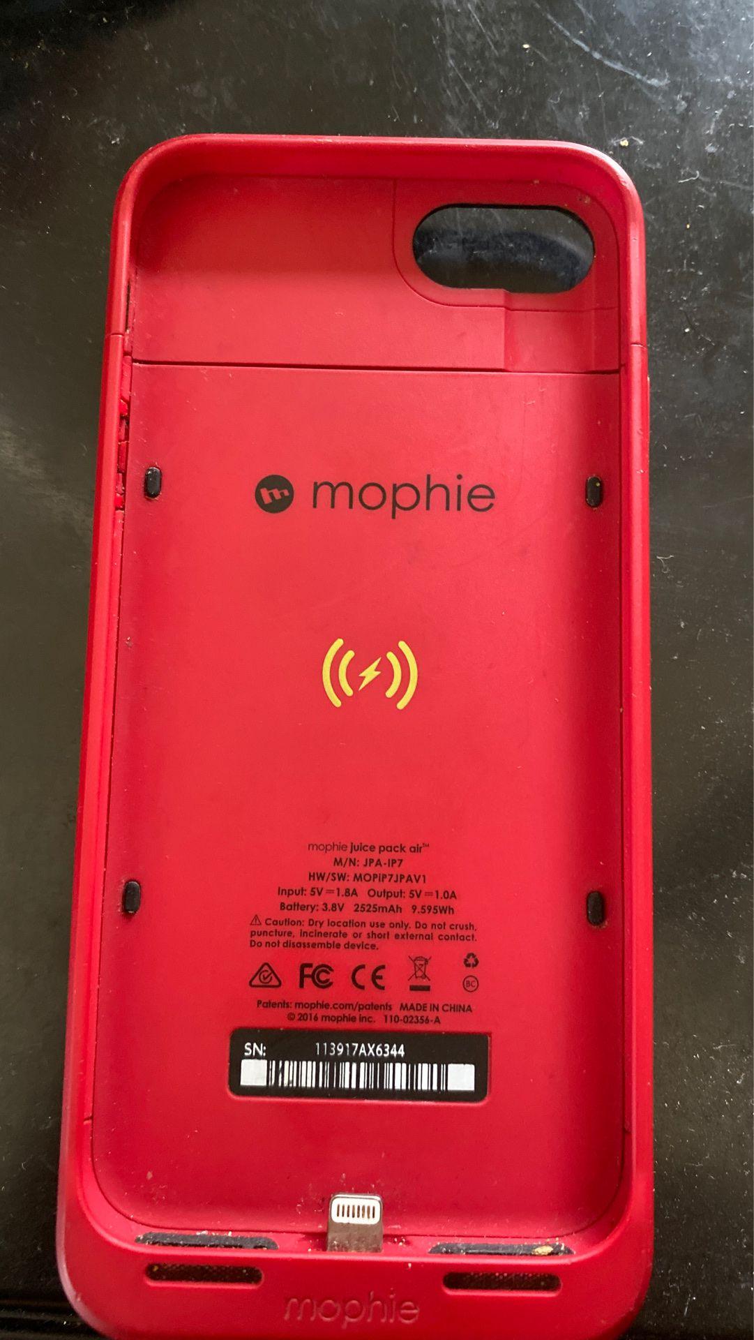 iPhone 7/8 mophie juice pack air