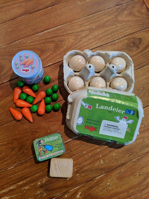 Wooden Kitchen Food Toys Haba For Sale In Virginia Beach Va Offerup
