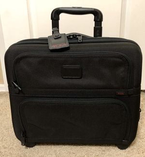 TUMI 'Alpha' Black Nylon Expandable Compact Wheeled Briefcase - 26124DH for Sale in Mesa, AZ