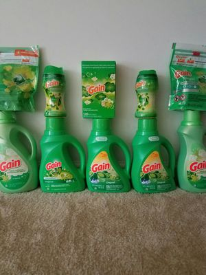Gain Original laundry bundle - $40 not negotiable for Sale in Rockville, MD