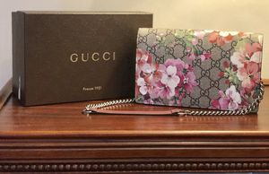 NIB Authentic Gucci Blooms Pink Wallet On Chain Shoulder Bag for Sale in Alexandria, VA