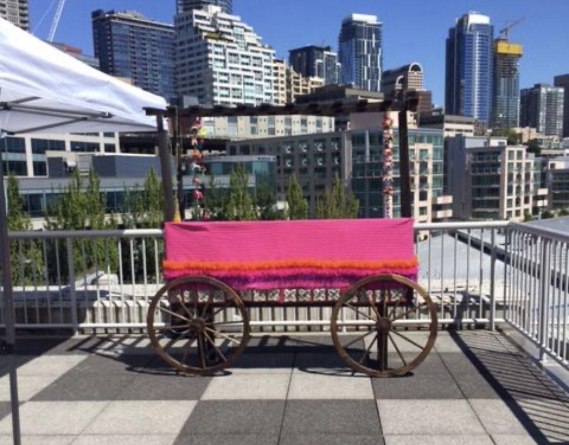 Food Beverage Serving Cart Event Wedding