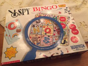 I spy bingo - kids game for Sale in Arlington, VA