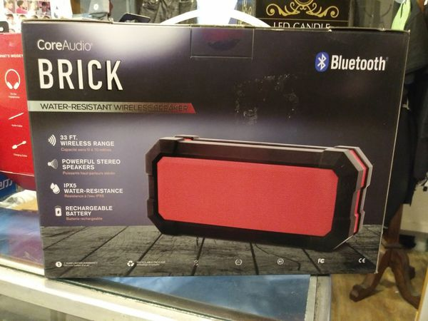 Core Audio Brick portable Bluetooth speaker for Sale in East Saint Louis,  IL - OfferUp