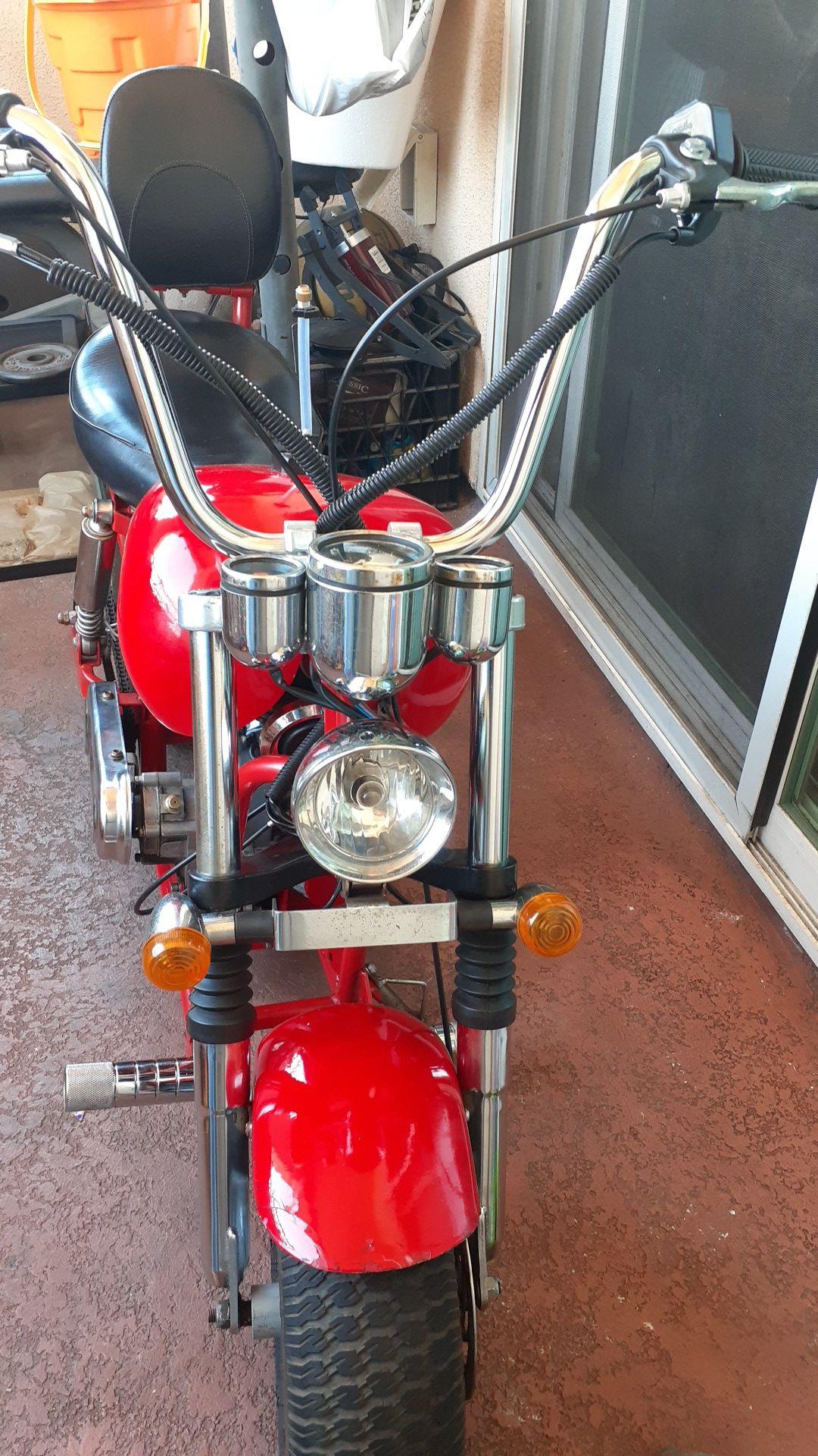2 stroke 43 cc Classic Mini Chopper