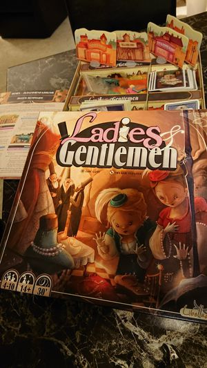Ladies and Gentlemen board game for Sale in Silver Spring, MD