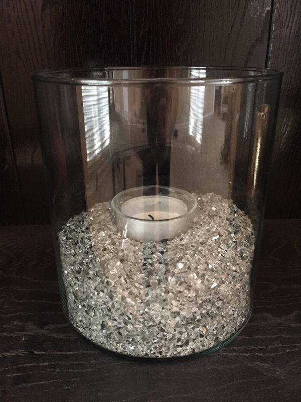 Vase With Silver Pebbles Household In Keller Tx Offerup