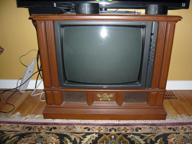 TV set for use of Hermit's Purple