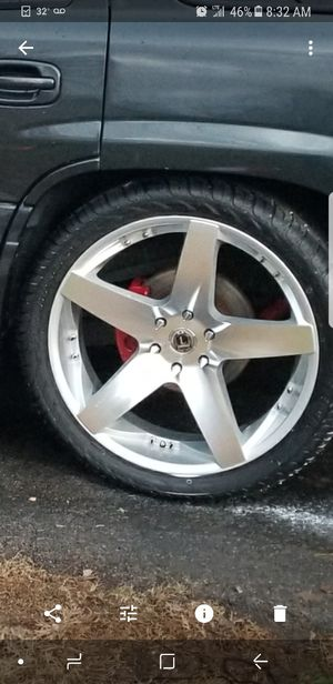 New 24 inch wheels for Sale in Nashville, TN