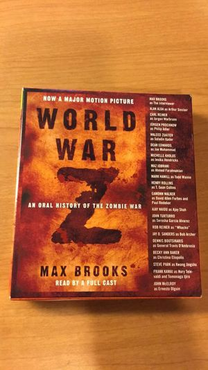 World War Z Audiobook for Sale in Washington, DC