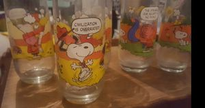 Camp snoopy glasses for Sale in Tempe, AZ