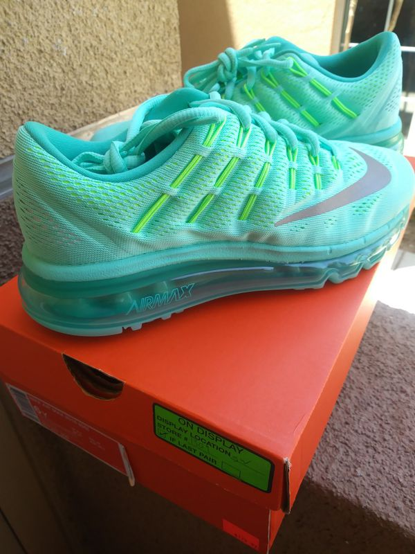 new concept 44699 bed50 Nike Air Max 2016 (GS) Hyper Turquoise for Sale in Chula Vista, CA - OfferUp