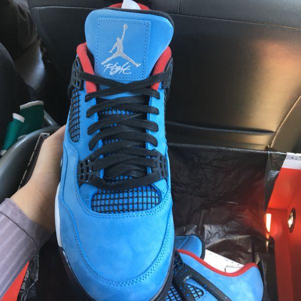 a1d04b7585d Nike Air Jordan 4 Travis Scott Cactus Jack DS 11.5   10.5 for Sale ...