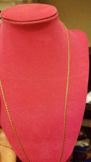 18k gold chain for Sale in Springfield, VA