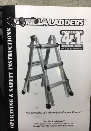 Gorilla Ladders Static Hinge set for Sale in Bowie, MD
