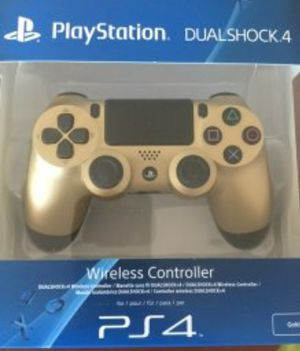 Gold PS4 controller. Opened just too see for Sale in Fairfax, VA