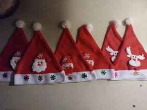 Brand New 6-Pack Children's Santa Hats for Sale in Las Vegas, NV