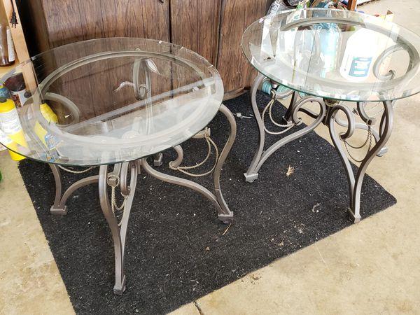 Fancy End Tables