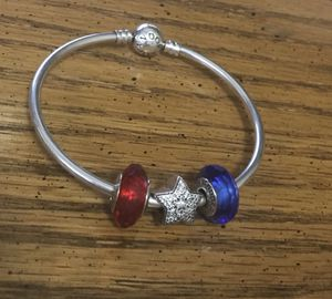 Pandora bracelet with charms for Sale in Aspen Hill, MD