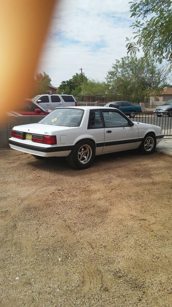 1992 mustang notchback with built motor everything custom ...