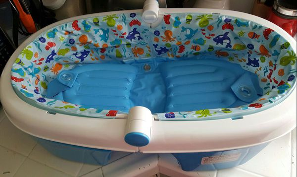 Summer Infant Fold Away Baby Bath Tub For Sale In San Jose