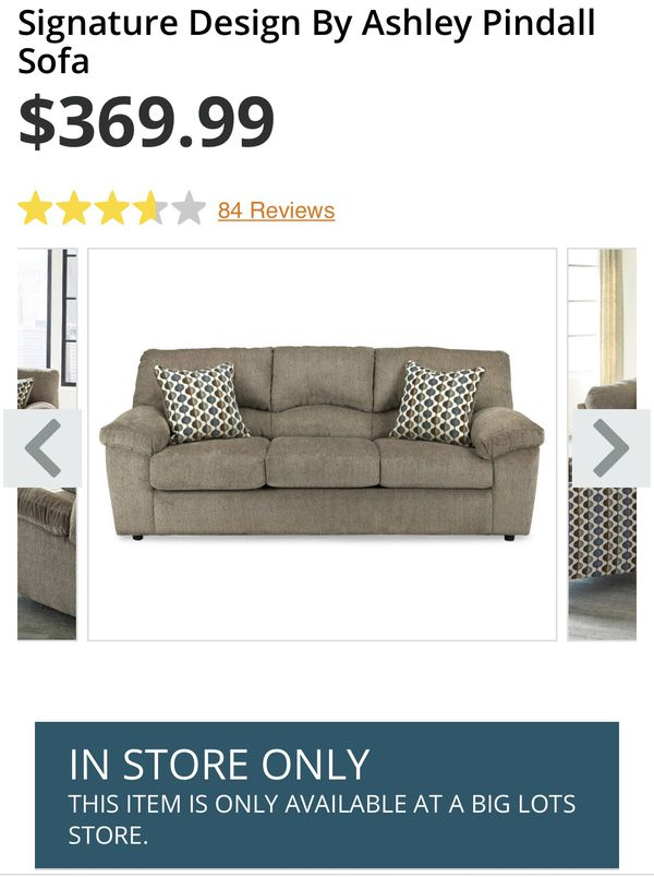 Signature Design By Ashley Pindall Sofa For Sale In Cleveland Oh